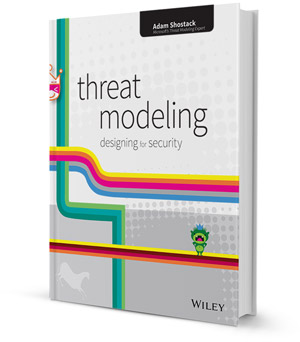 Threat modeling book 300