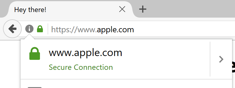 URL bar showing