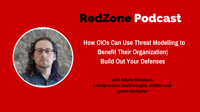 Redzone Podcast on threat modeling