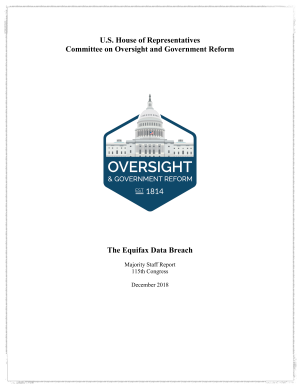 House Oversight Committee on Equifax