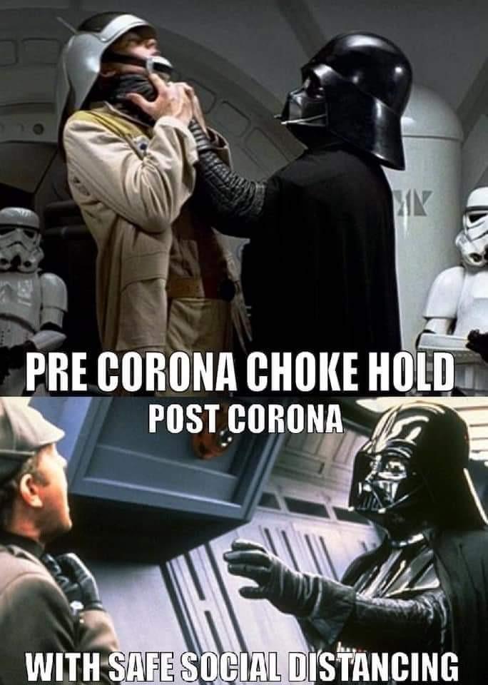 Safe social chokehold